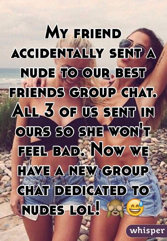 nude group chat