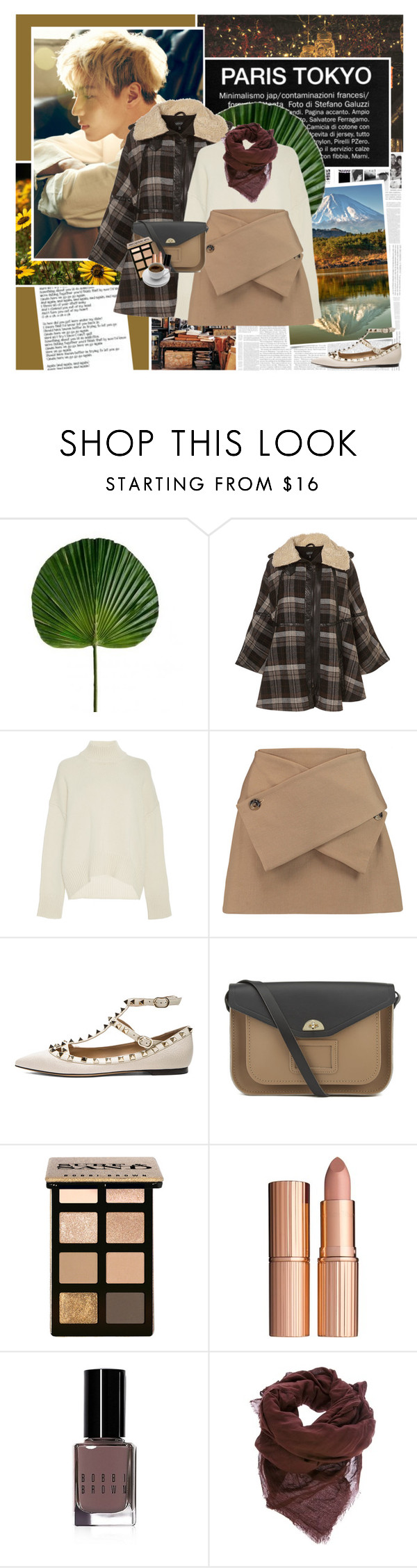 """319:Taemin"" by unicorn-plushie ❤ liked on Polyvore featuring Again, Fuji, Brock Collection, J.W. Anderson, Valentino, The Cambridge Satchel Company, Bobbi Brown Cosmetics, Charlotte Tilbury and Faliero Sarti"