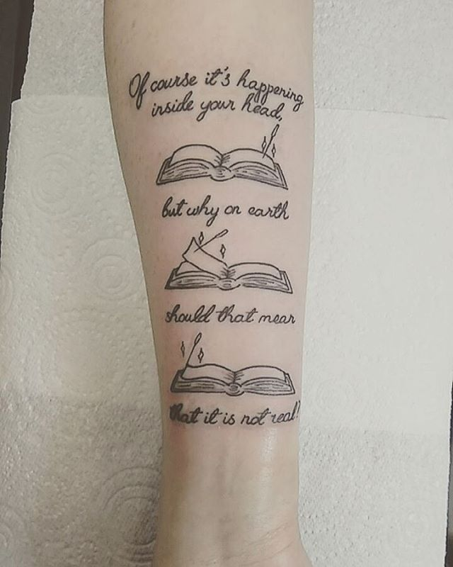 27 Magically Meaningful Tattoos Inspired By The World Of: Harry Potter Quote Tattoos That Prove Your Love Of The