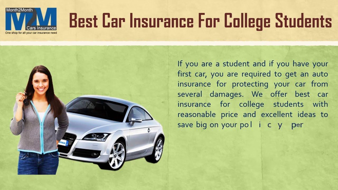 How to Get Cheap Auto Insurance for College Students with