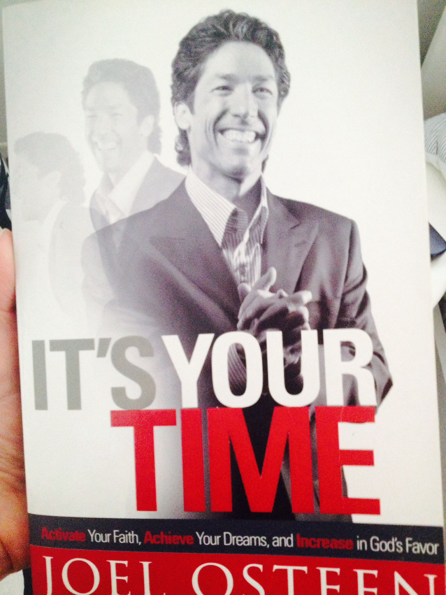 """There is so much truth in this book. Too many pages to quote. #joelosteen #BYBY """"You have everything you need right now to achieve your purpose"""""""