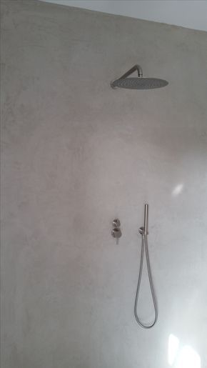 Mikrozement - Bad ohne Fliesen sogar im Duschbereich Auf der - alternative zu küchenfliesen