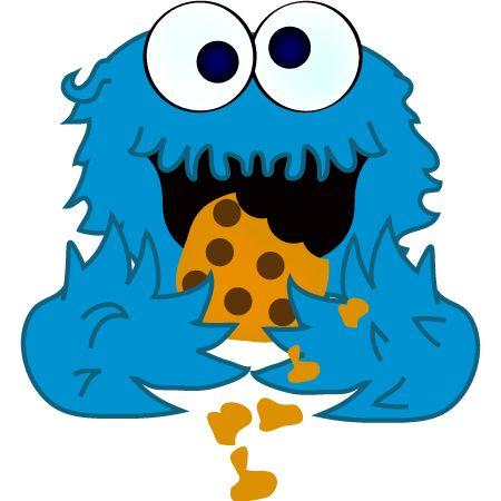 Similiar Cute Cookie Monster Eating Cookies Keywords Cute