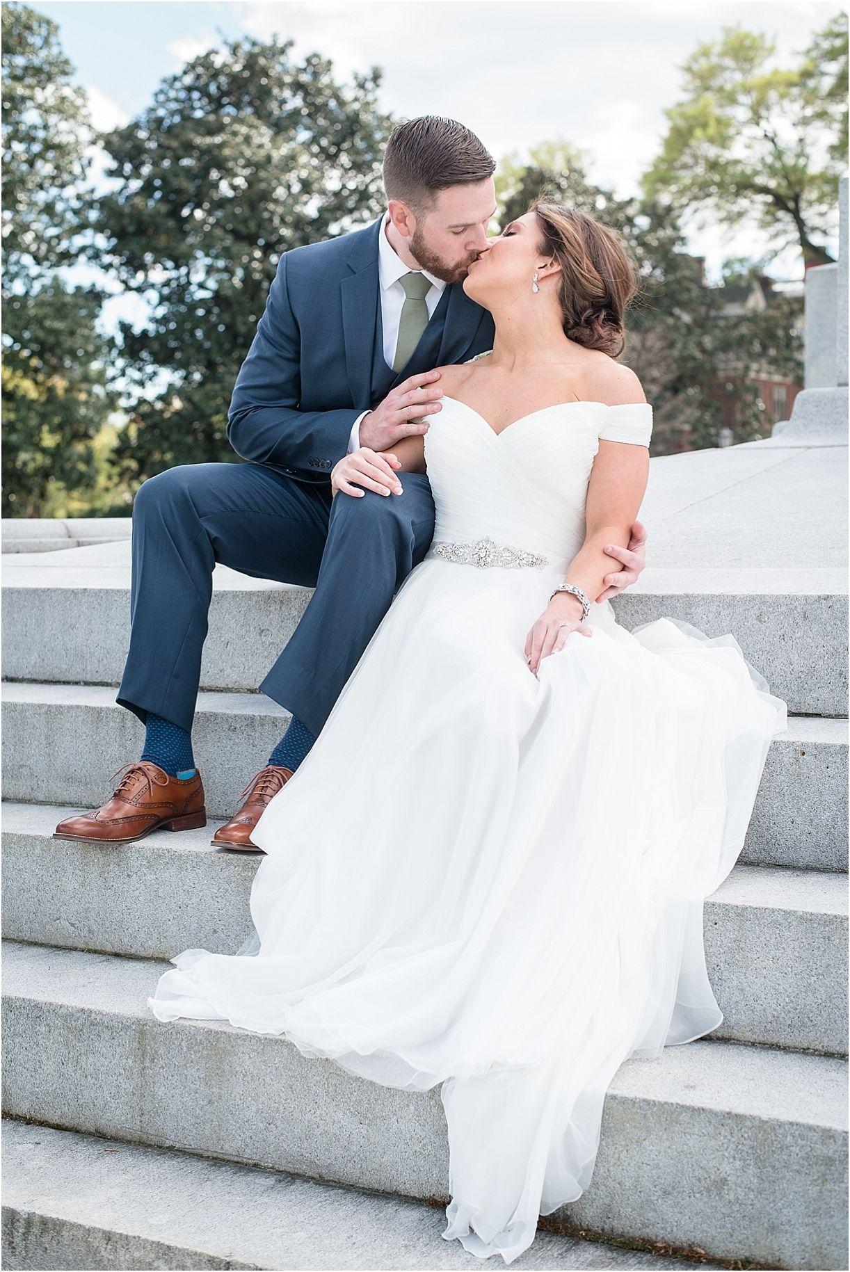 Wedding dresses richmond va  Sophisticated Richmond Wedding u Mike u Kate  Weddings
