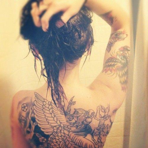 sportyviewscom Upper Back Tattoos Tumblr Tattoo Ideas