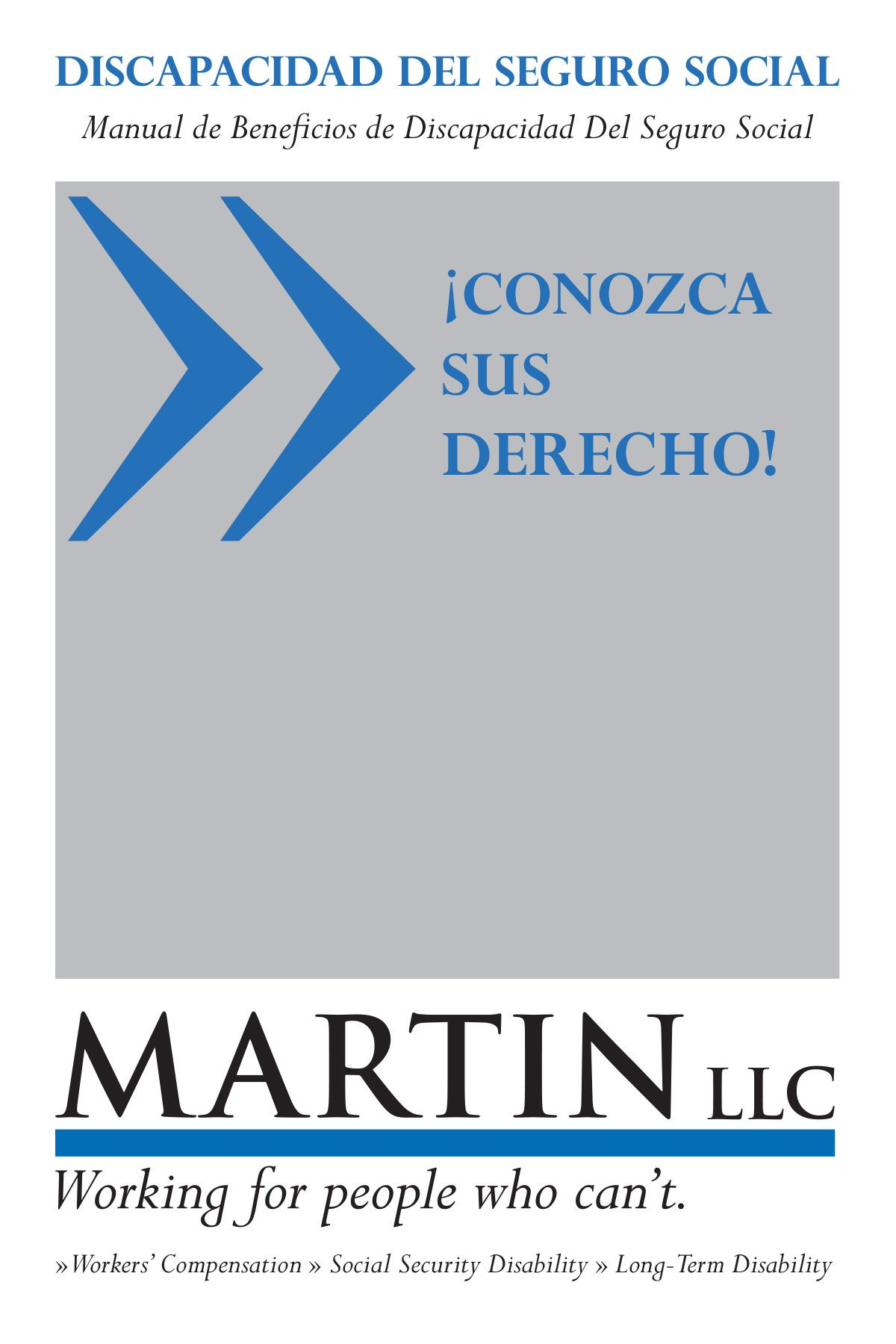 Martin Llc Spanish Social Security Disability Handbook Social