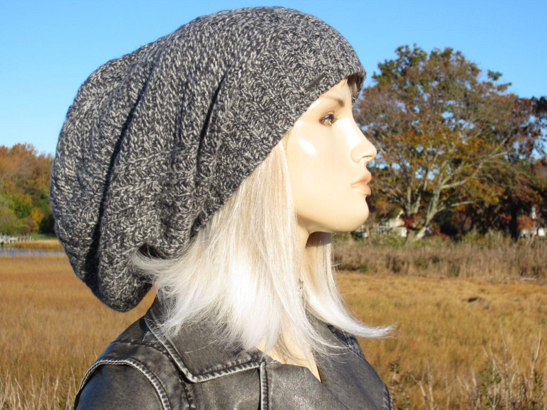 3b7c9cbb5 Thick Warm Winter Hat Bulky Slouchy Dreadlock Tam Beanie Hat Extra ...