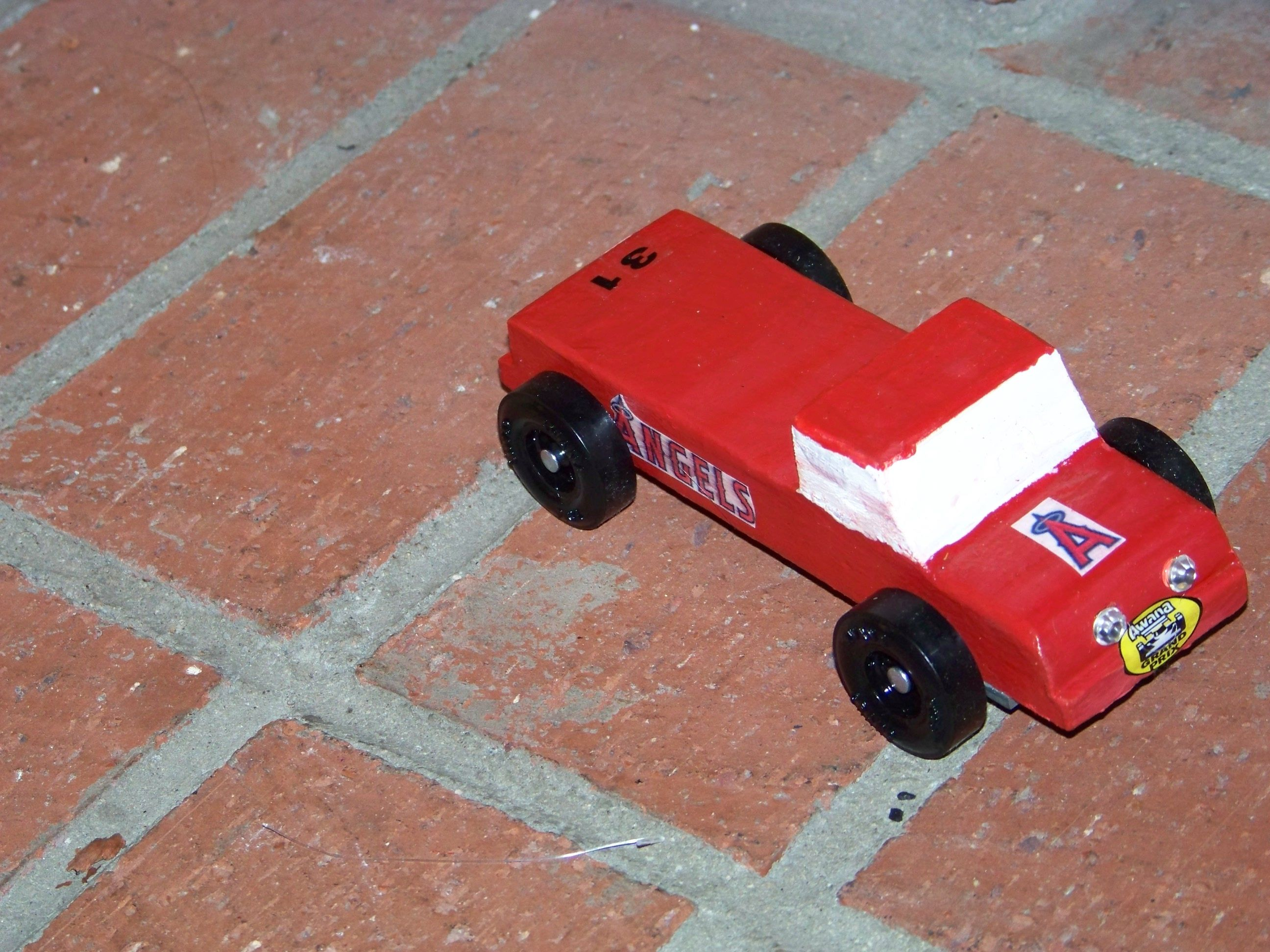 Awana Grand Prix car, Angels baseball forever!! Created by our first ...