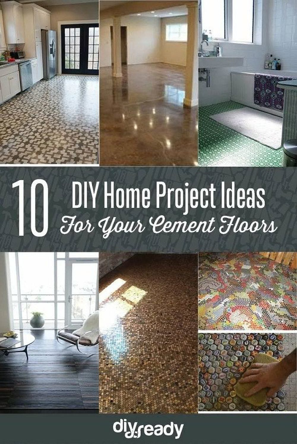 Home Improvement Hack Ideas Diy Flooring Home Projects Home