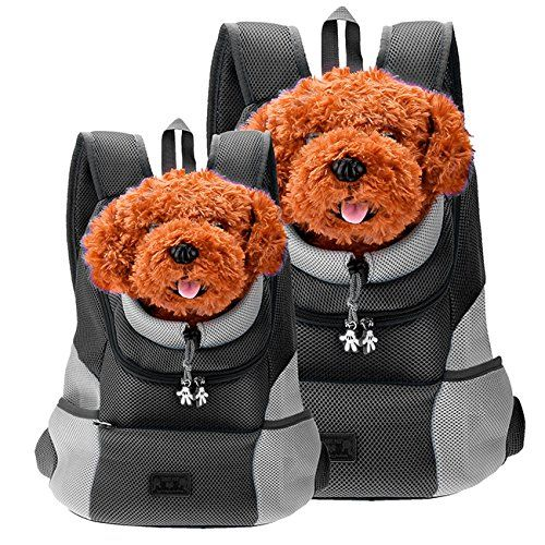 Wonderful Backpack For You To Carry Your Pet Dog Cat Go Out And Travel The Front Hole Is Adjustable Dog Backpack Carrier Pet Backpack Carrier Small Dog Carrier