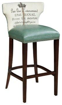 Kathryn Barstool traditional bar stools and counter stools atlanta Kristin Drohan Collection