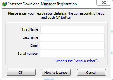 fake serial key for idm
