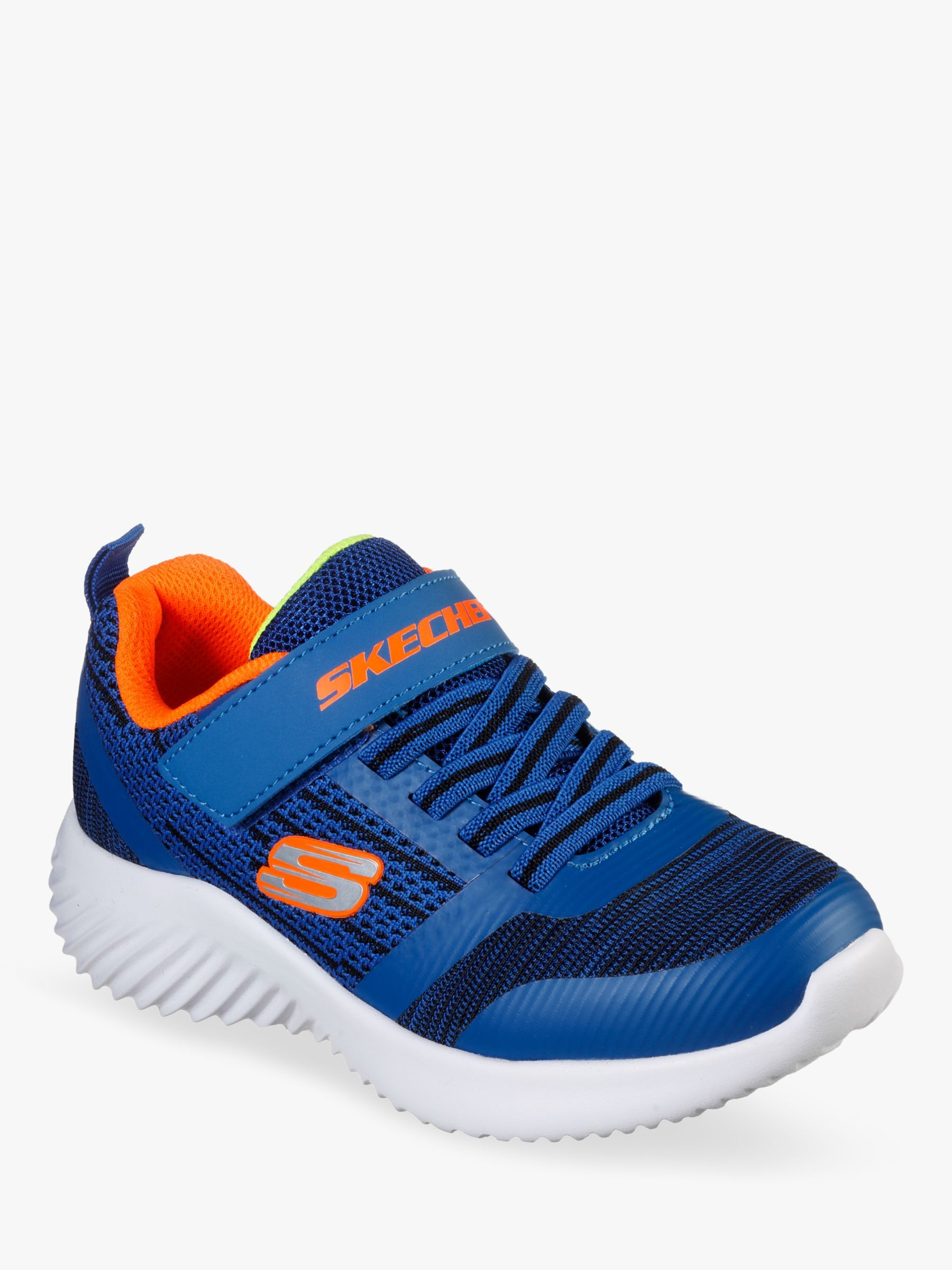 Bounder Zallow Trainers, Blue/Black
