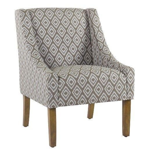 Best Swoop Arm Chair Homepop Accent Chairs Homepop Chair 400 x 300