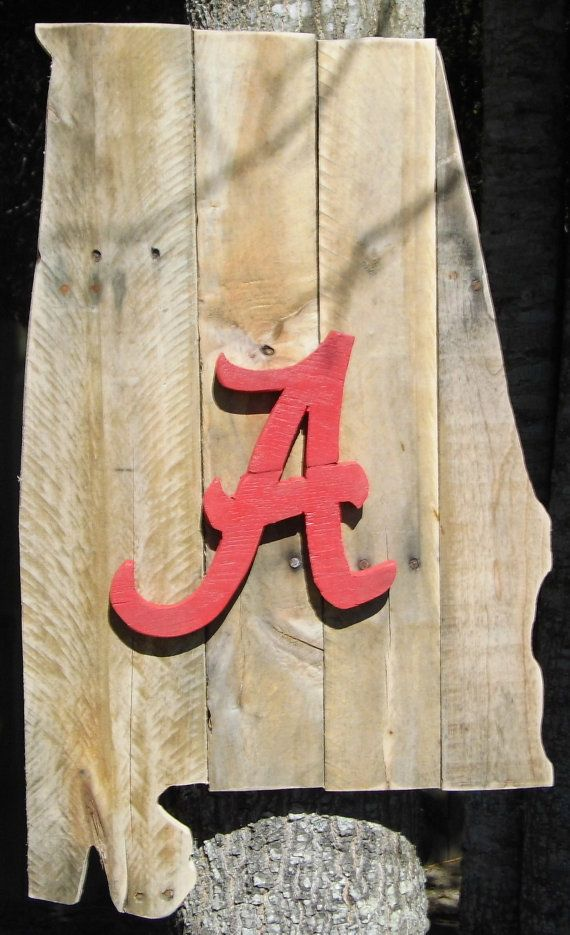 Reclaimed Pallet Wood State of Alabama-University of Alabama