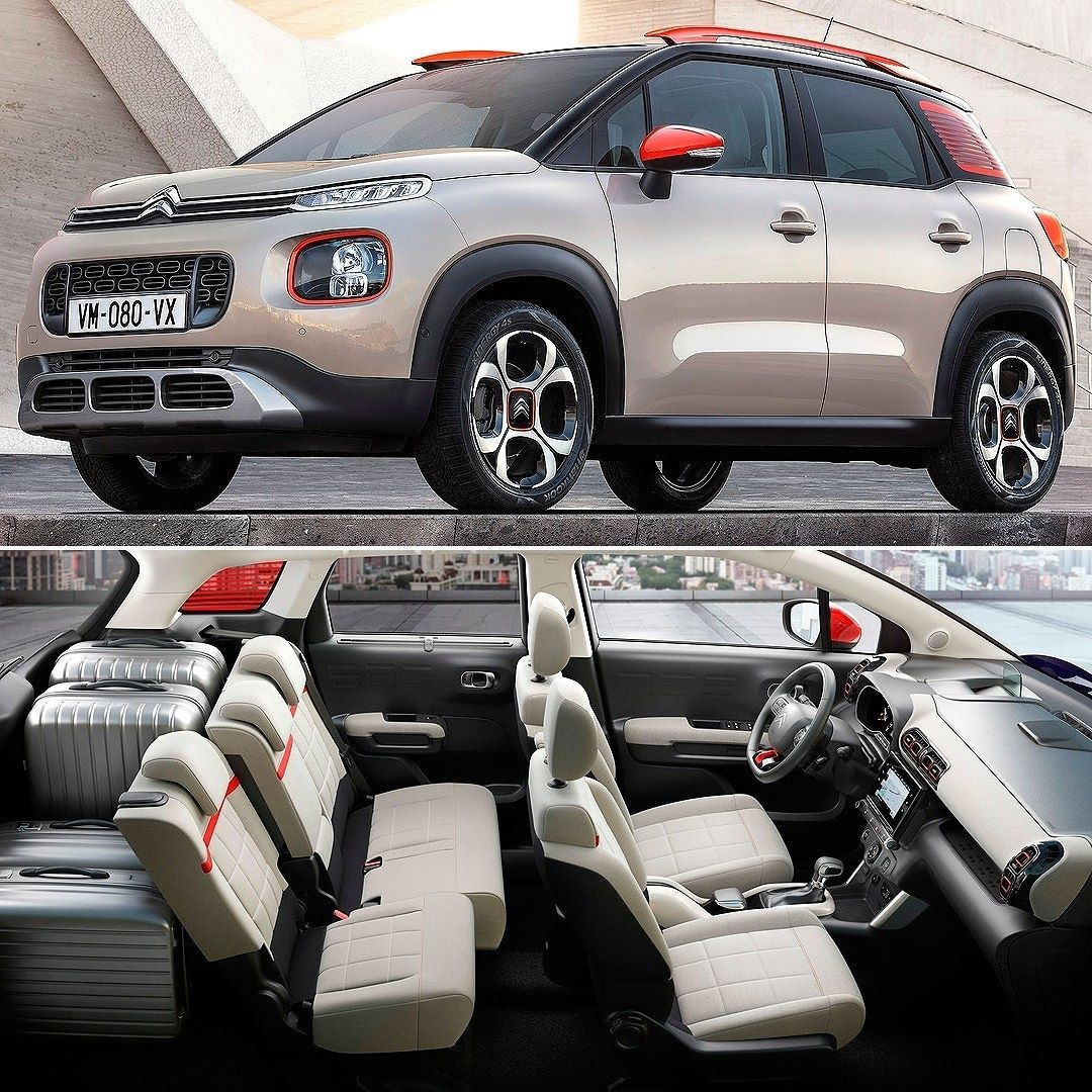 citroen c3 aircross 2018 marca francesa revelou na europa o novo c3 aircross que deixou de ser. Black Bedroom Furniture Sets. Home Design Ideas