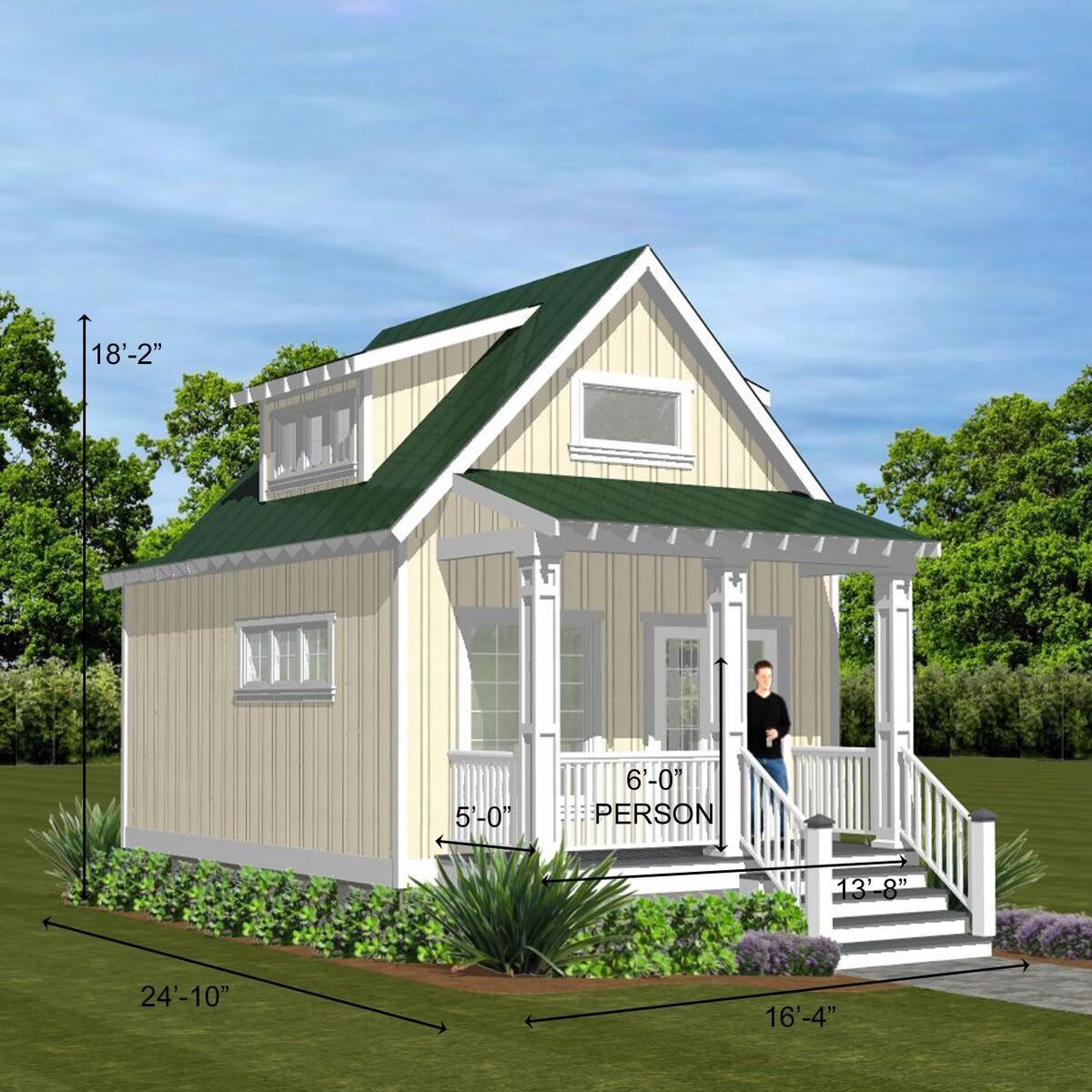 317 Aspen Crawl Creative Living Designs Llc Small Beach Houses Small House Guest Cottage