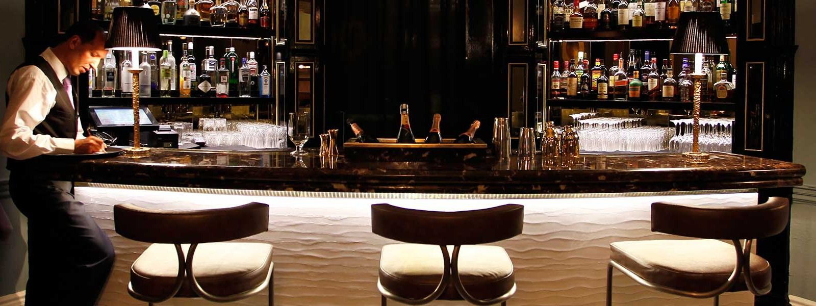 The Restaurant in House 19 is the perfect place to enjoy