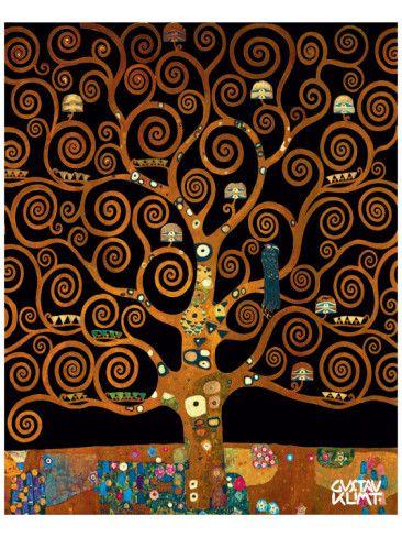Arbre De Vie De Klimt : arbre, klimt, Under, Life', Premium, Giclee, Print, Gustav, Klimt, AllPosters.com, Peinture,, Peintre, Klimt,, Arbre