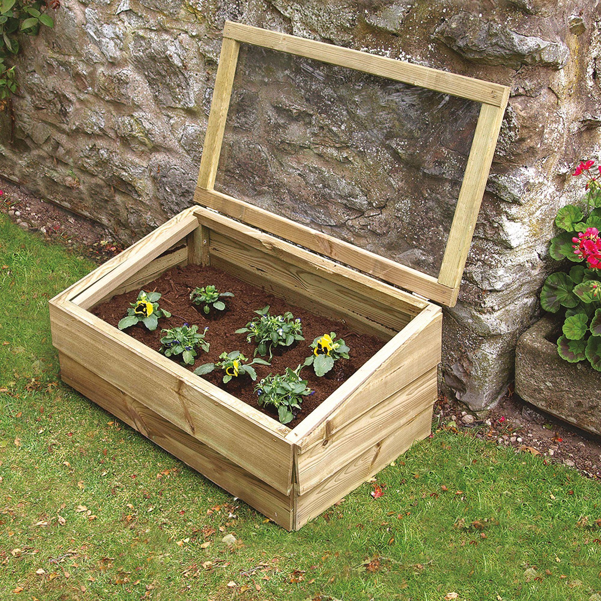 Grange Wooden Cold Frame | Cold frame, Garden ideas and Gardens