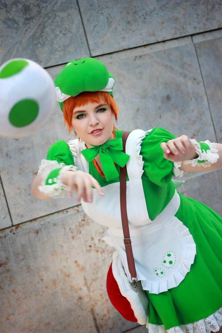 Yoshi S Island Egg Bomb By Another Rose On Deviantart Cosplay