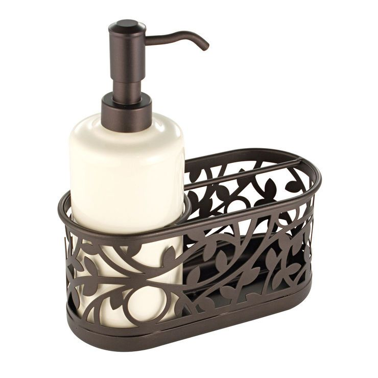 Vine Soap Pump Caddy Bronze Kitchen Soap Dispenser Best