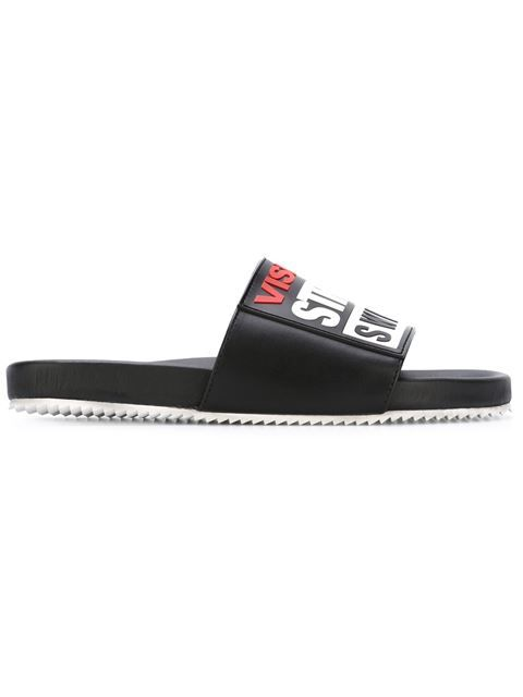 SWEAR Vision Street Wear x Swear sliders. #swear #shoes #sliders