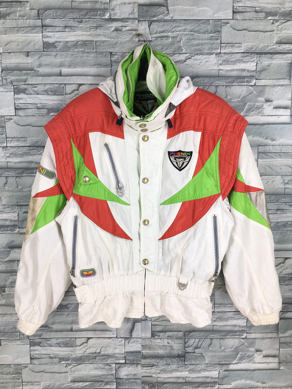Vintage 90s Phenix Ski Wear  Jacket Coat Windbreaker