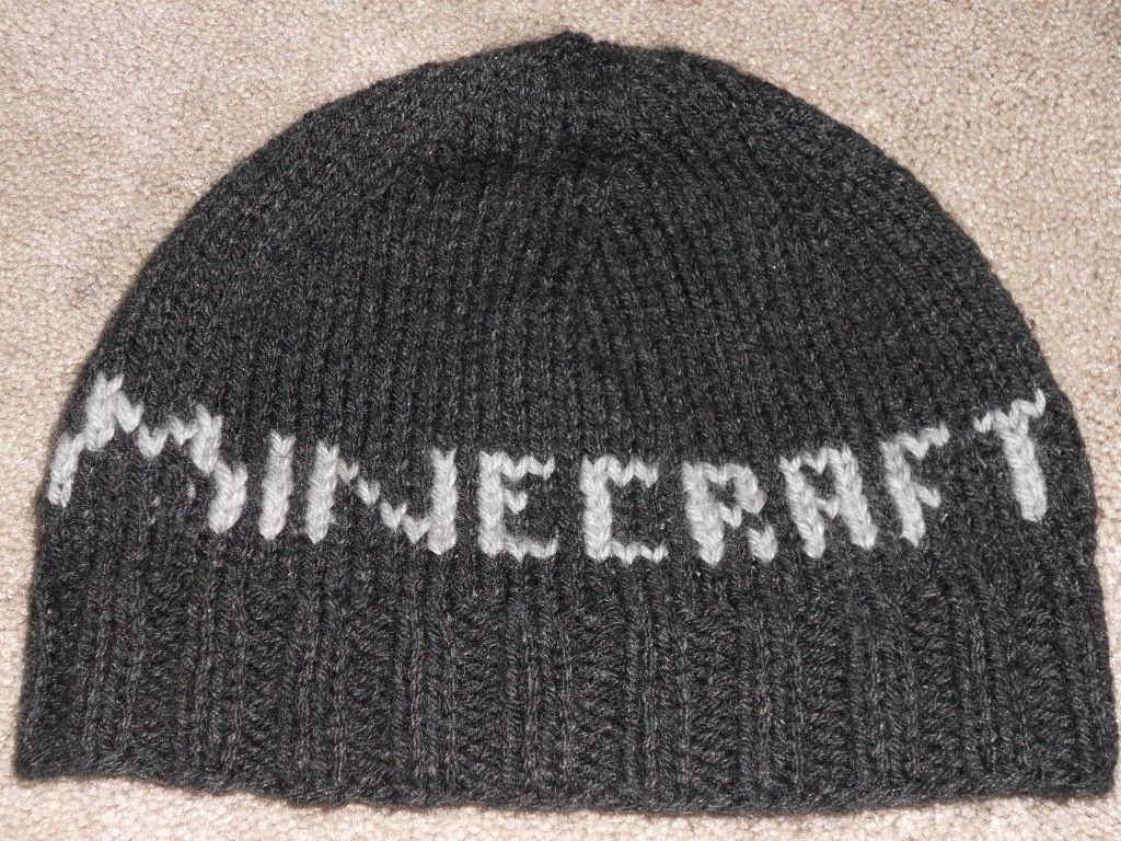 Free Minecraft Hat Knitting Pattern With Images Knitting