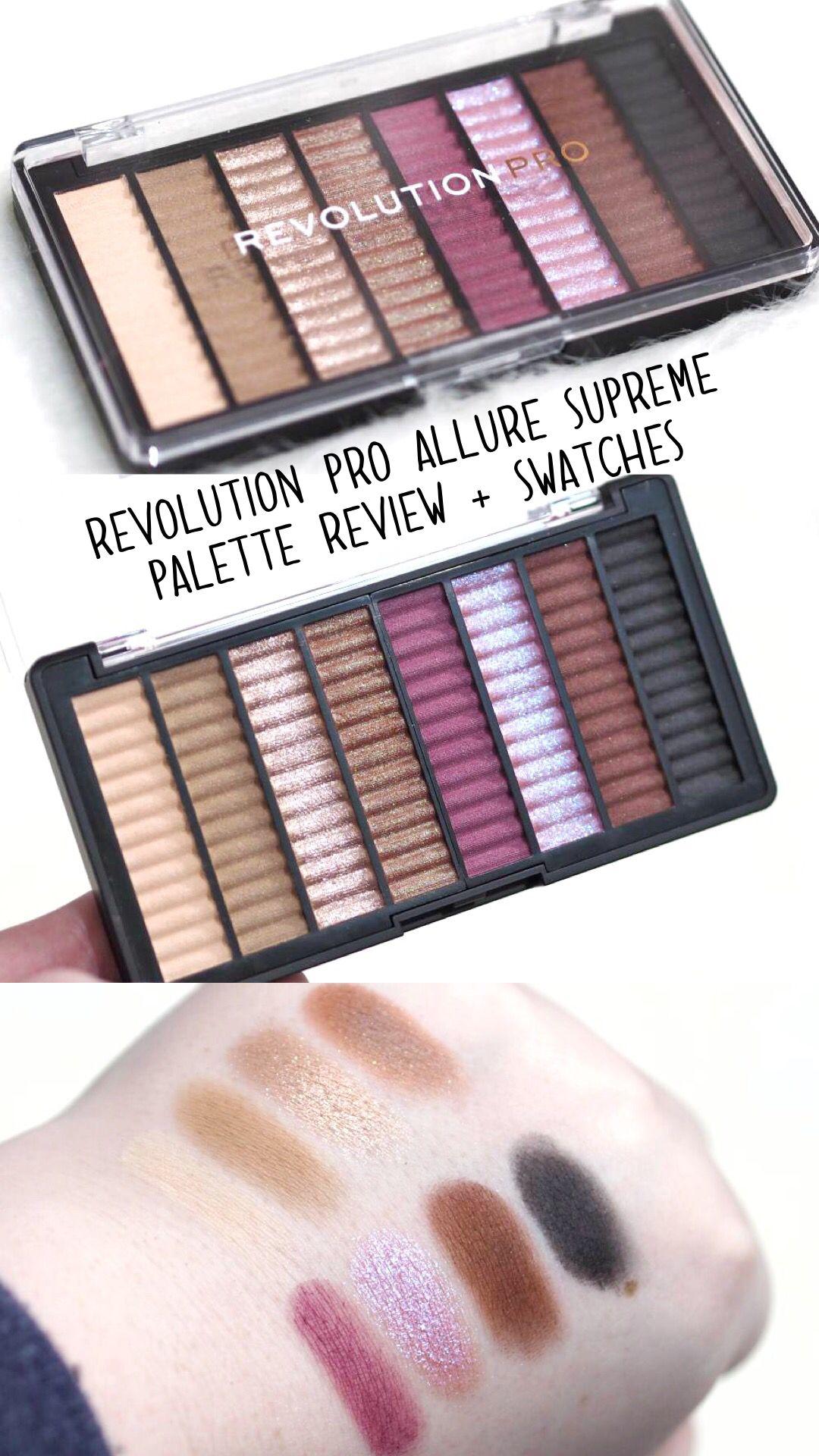 Revolution Pro Allure Supreme Eyeshadow Palette | Eyes | Eye makeup