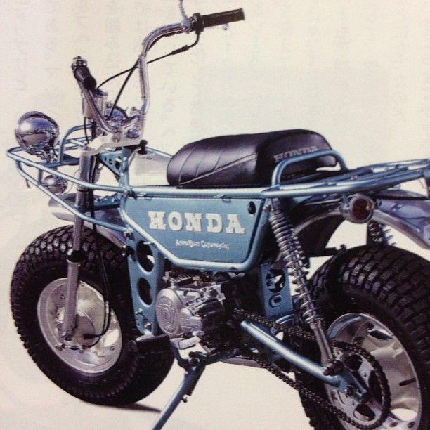 טוב מאוד Old Honda Mini-Bike | Motorcycles - Honda + | Honda motorcycles CX-21