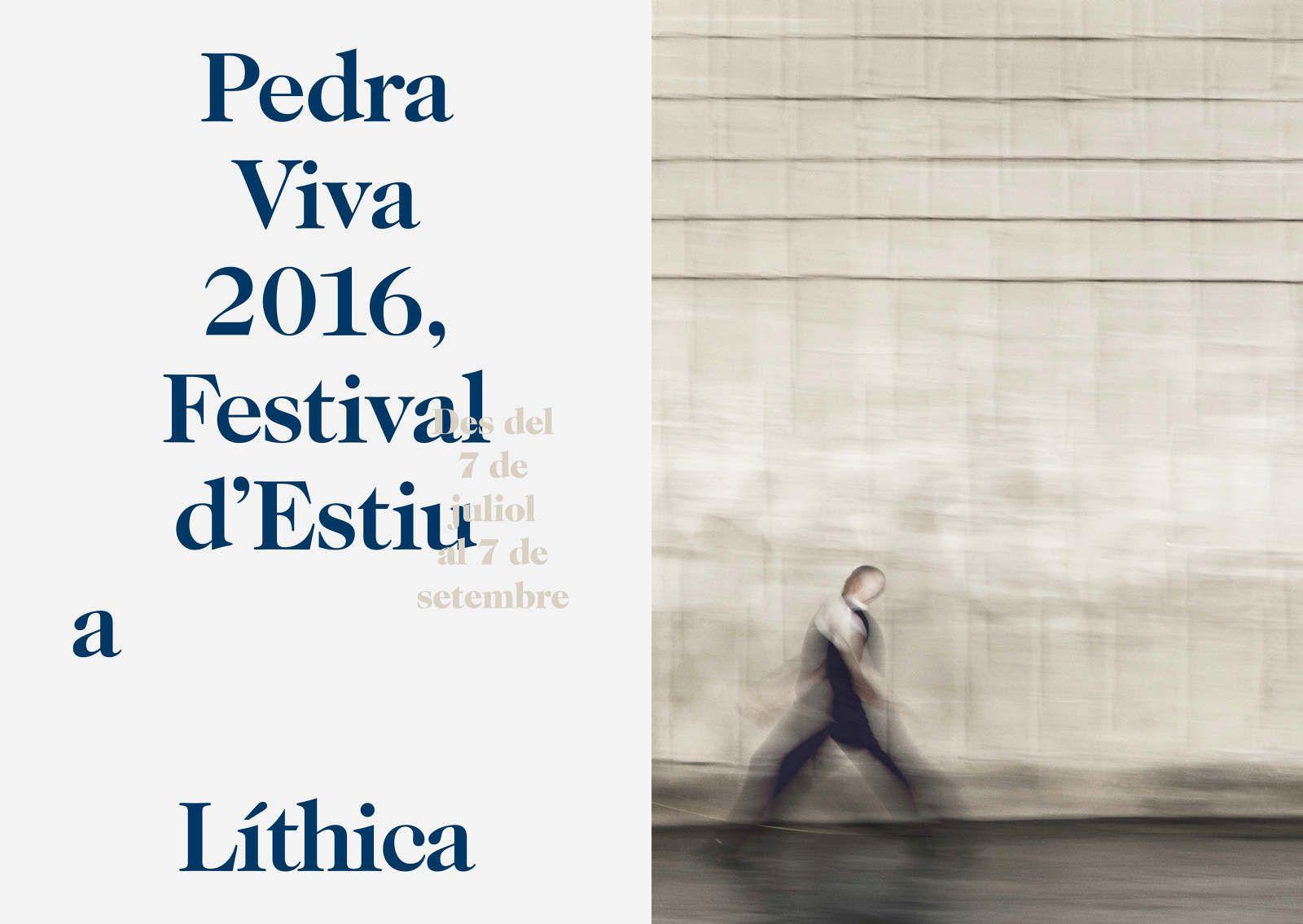 Pedra Live 2016 Festival d'Estiu to Líthica - labuhardi senabre marine design from architecture to graphic identity