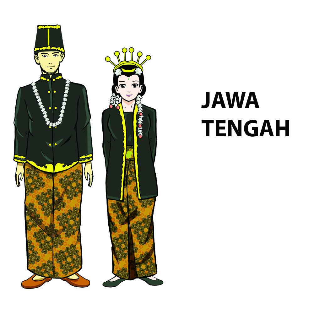 Gambar Pakaian Adat Dari Jawa