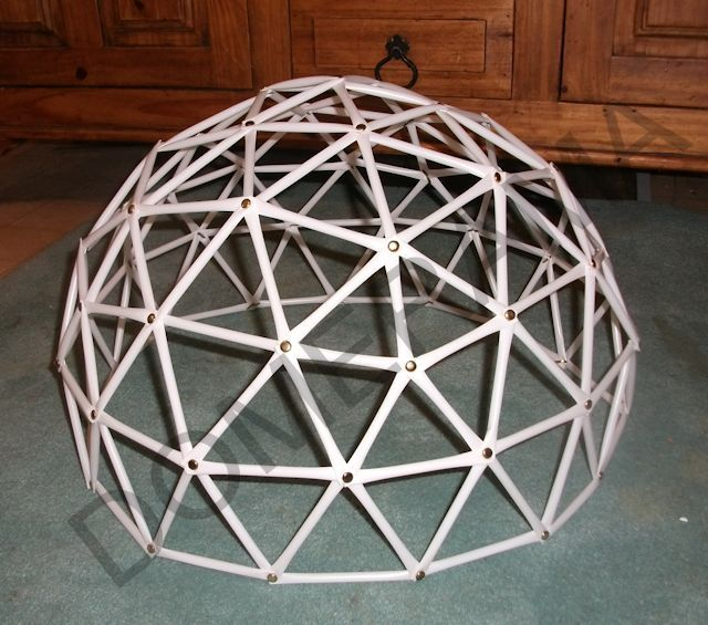 Geodesic Dome Template: Geodesic Hex Dome CNC Plywood Modular Pattern