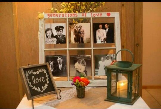 Generations of love window