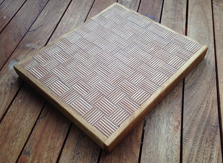 End Grain Board With Plywood 737 215 538 Simple Mostly