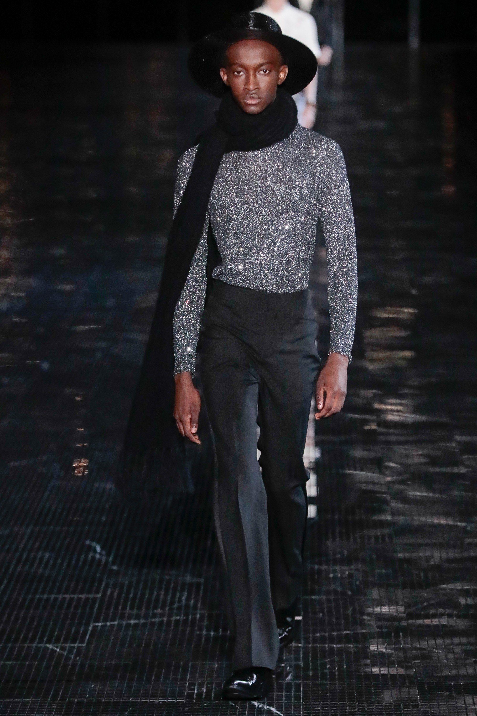 d785e54948f Saint Laurent Spring 2019 Menswear New York Collection - Vogue