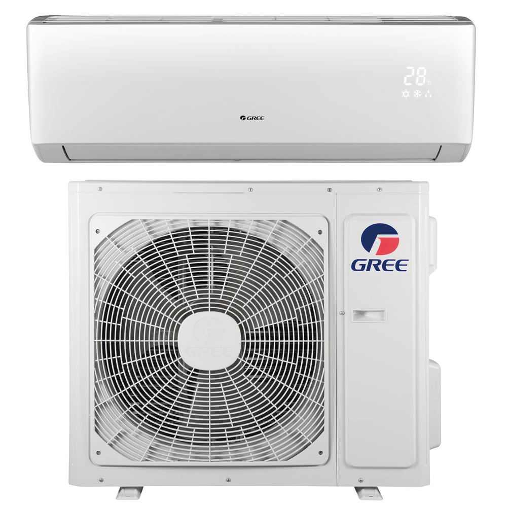 Livo 9 000 Btu 3 4 Ton Ductless Mini Split Air Conditioner With Inverter Heat Remote 208 230 Ductless Mini Split Air Conditioner Maintenance Heat Pump System