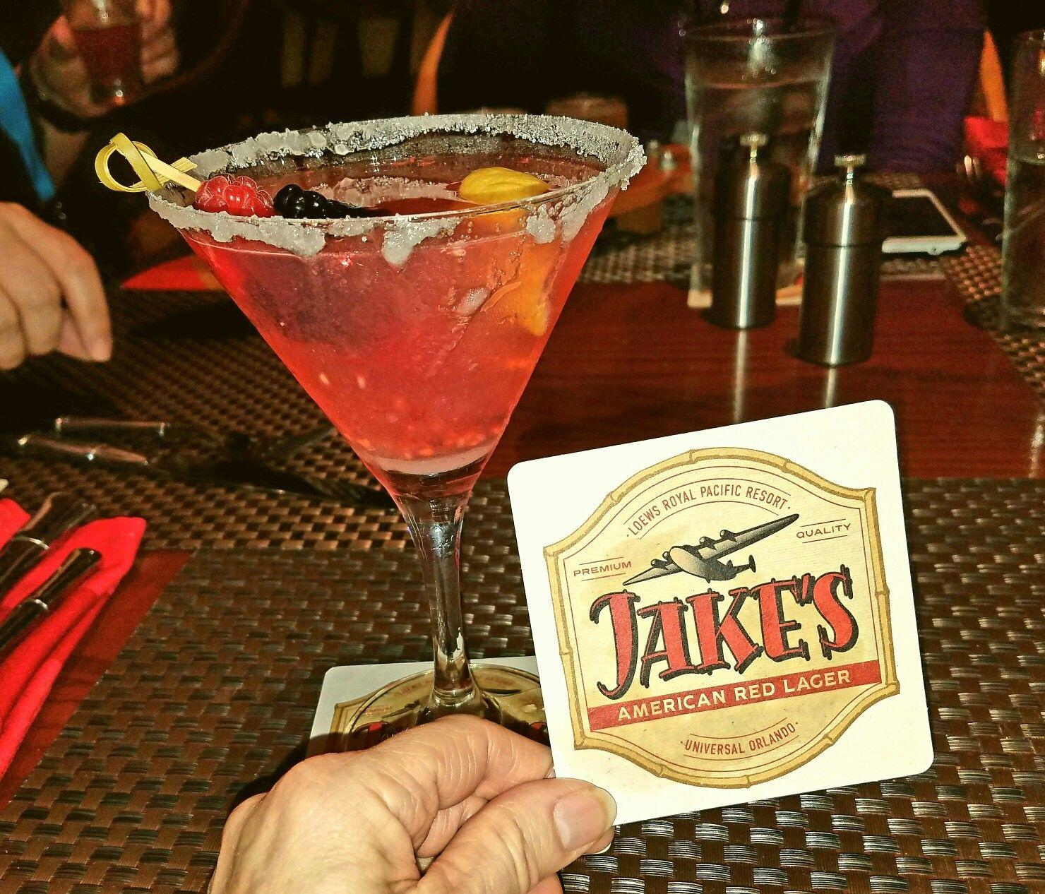 Hollywood Martini Greygoose Vodka Lemon Raspberry Sugar So Yummy Bar Mixolog Royal Pacific Resort Loews Royal Pacific Resort Booze Traveler