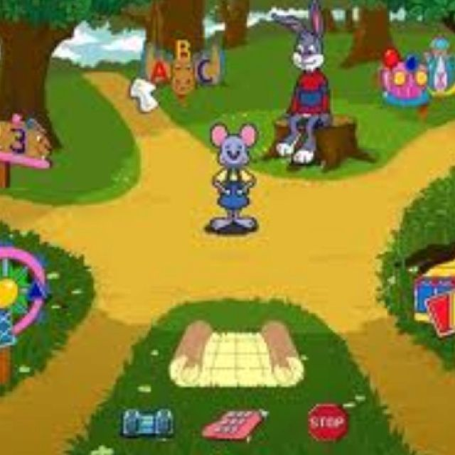 Reader Rabbit!!! That's It, I Been Trying To Remember The