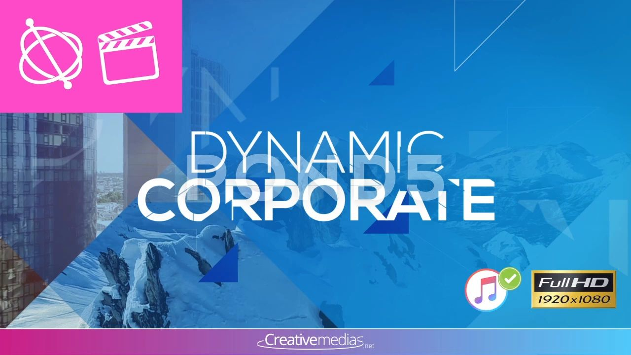 Dynamic Corporate Presentation ¨C Apple Motion and Final Cut