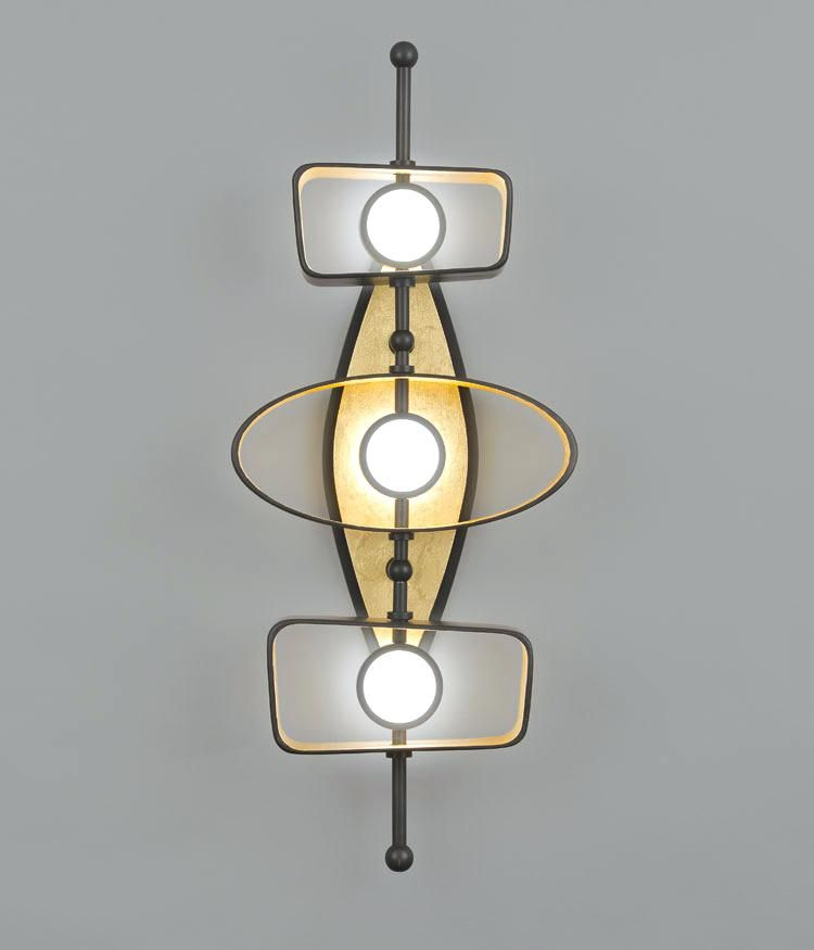 Light Fixture Sconce Wall Sconces Lighting Totem Triple Parts Sconces Wall Sconce Lighting Interior Wall Sconces