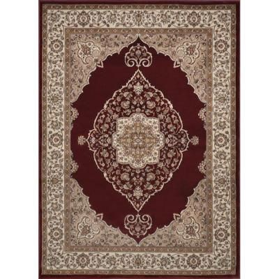 Bazaar Emy Red Ivory 8 Ft X 10 Area Rug For The Home