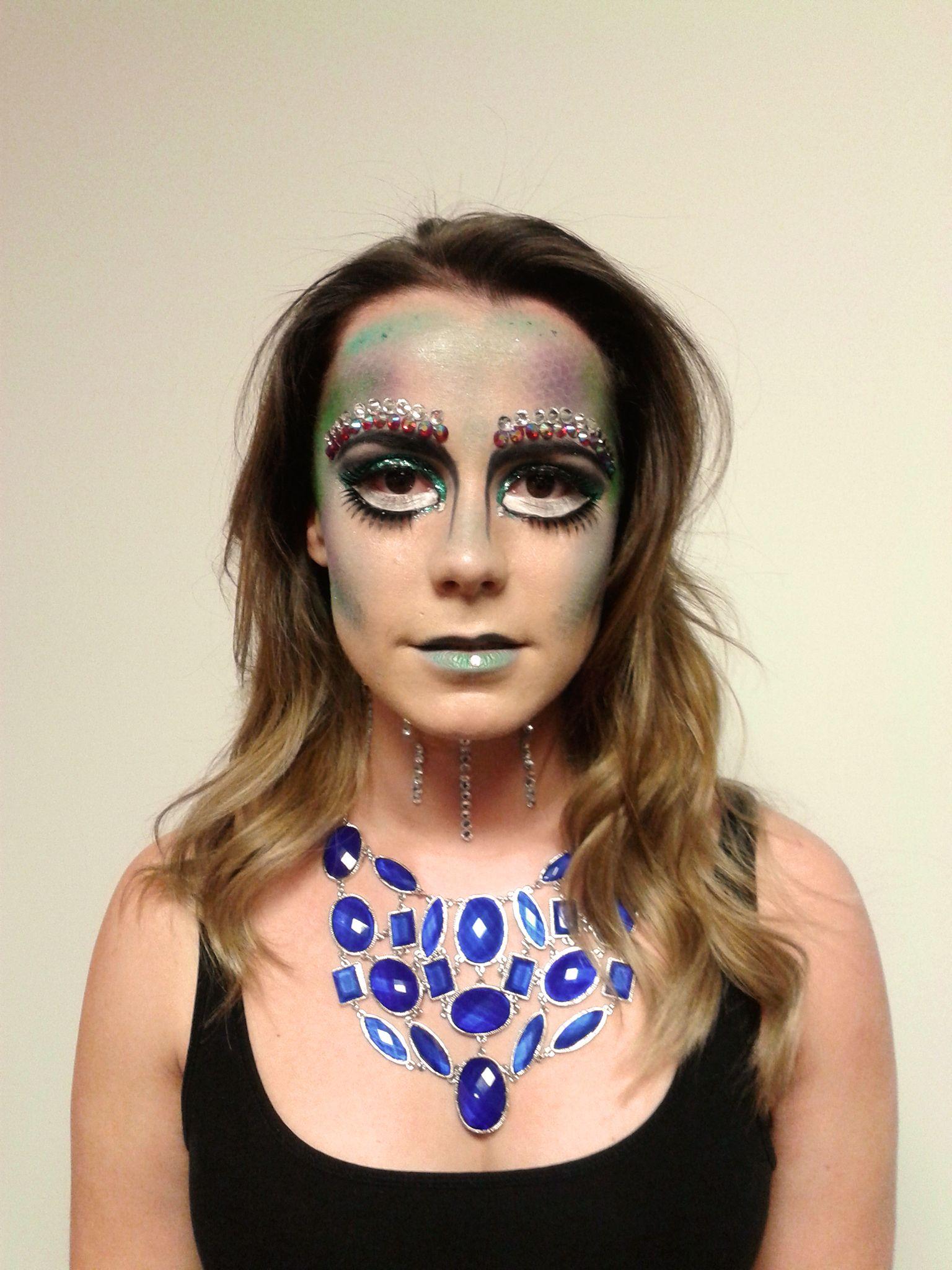 Chantal shows off Ruby's final makeup design Special Occasion Makeup, Makeup Class, Makeup Designs