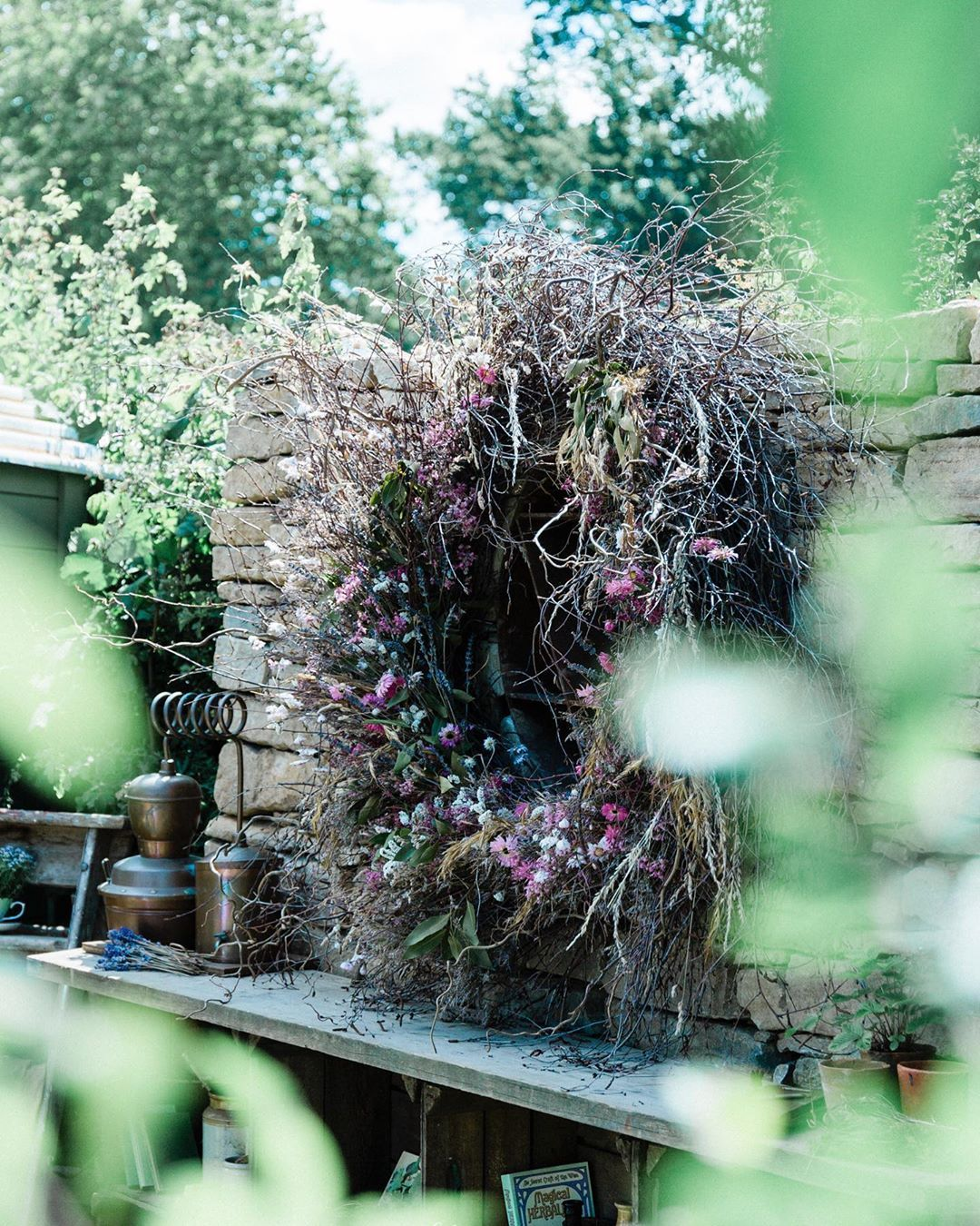 If You Visit The Rhs Hampton Court Palace Garden Festival This Week Make Sure To Visit The Naturecraft Garden Designed By Garten See