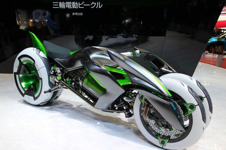 Kawasaki J 3-Wheeler Concept | Motorcycles, autos, great shapes by