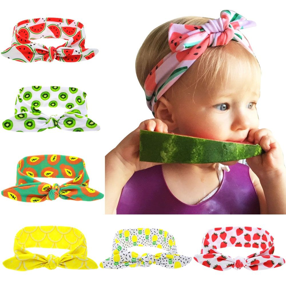 Tutti Frutti Baby Turbans Citrus Top knots