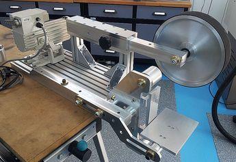 New Machine Build Kmg Clone Belt Grinder Pics Knife