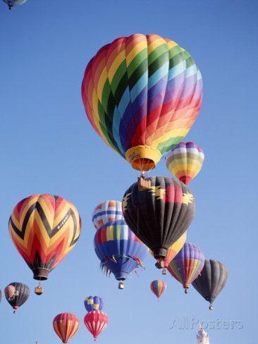 Real Hot Air Balloons In The Sky | www.pixshark.com ...
