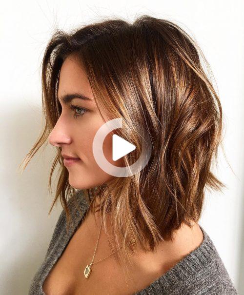 Pin On Hairstyle Design Medium Length Hair Styles Hairstyles For Thin Hair Hair Styles